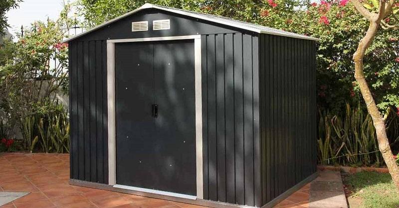 Comment choisir un abri de jardin en acier