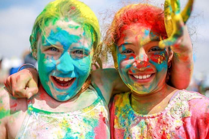 Holi fête des couleurs