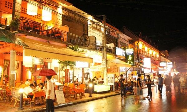 marché Laos capitale