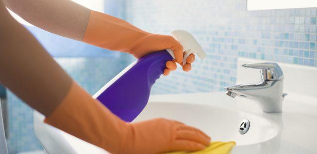 nettoyer salle de bain