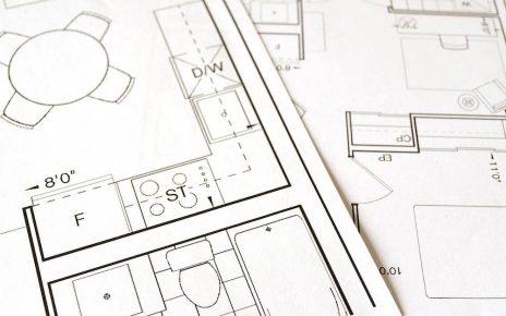 Plans dessiner par un architecte de Rennes