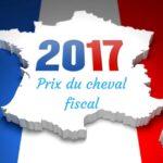 Les montants 2017 du cheval fiscal région par région